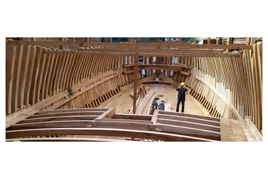 Construcción de la Nao San Juan